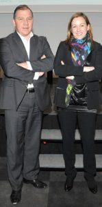 Axelle Lemaire et Maxime Sartorius