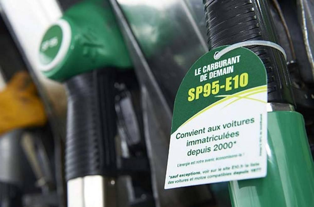 Seul le SP95-E10, agro carburant, bénéficiera d'une baisse de prix à la pompe